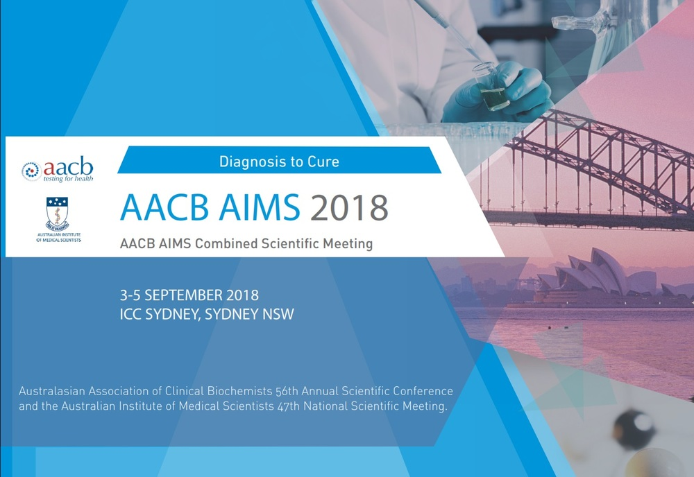 AACB AIMS 2018 Combined Scientific Meeting - Events